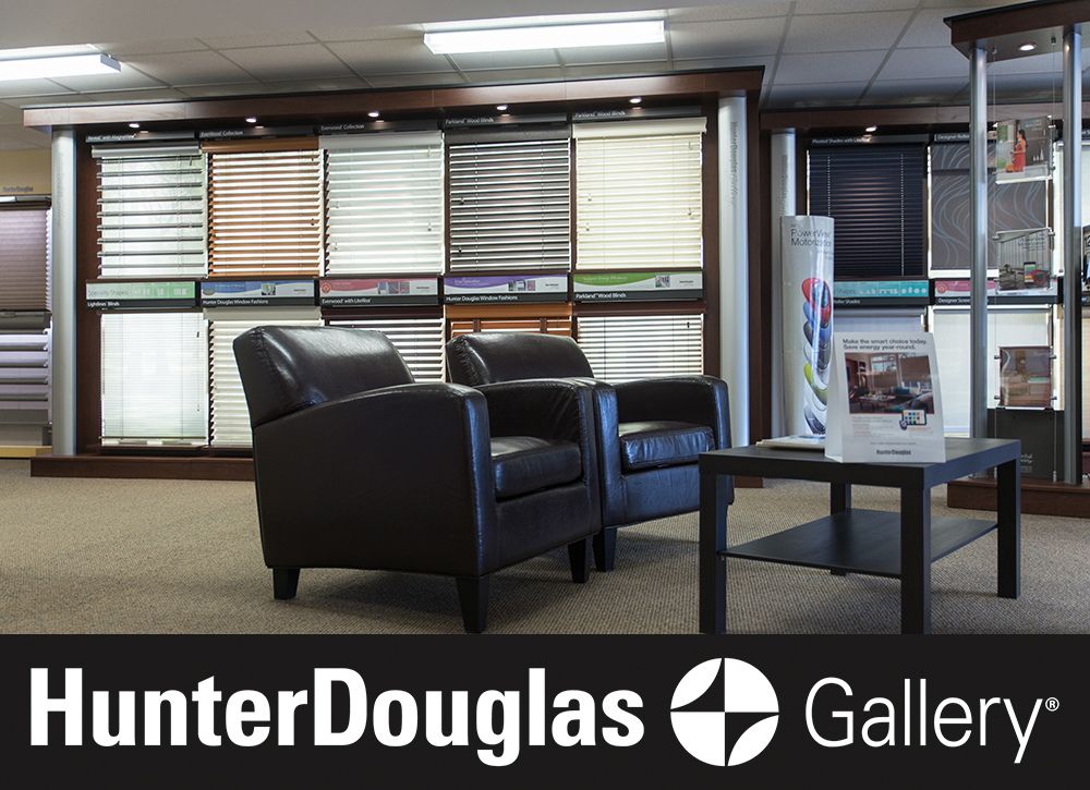 blind builders hunter douglas in store gallery