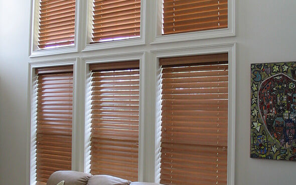 basswood parkland wood warm relaxed blinds painted stained special finishes cord lock literise cordless powerview motorization simplelift ultraglide