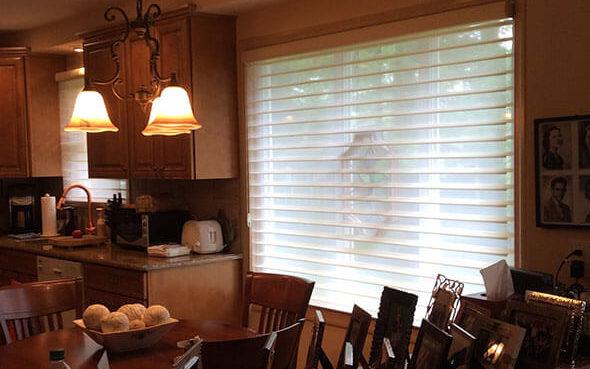 economic horizontal fabric nantucket window shadings easyrise literise ultraglide powerview motorized