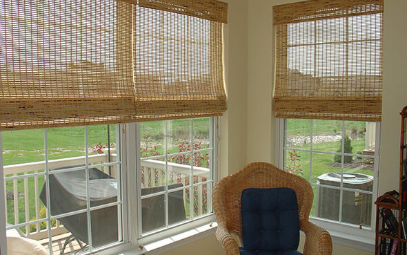 Provenance Woven Natural Wood Shades