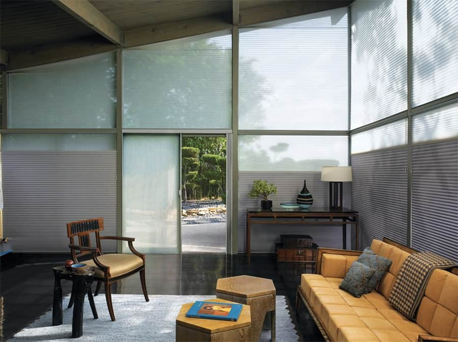 The Benefits of Honeycomb Shades for Homes in Warrington, Pennsylvania (PA) like Living Room Insulation