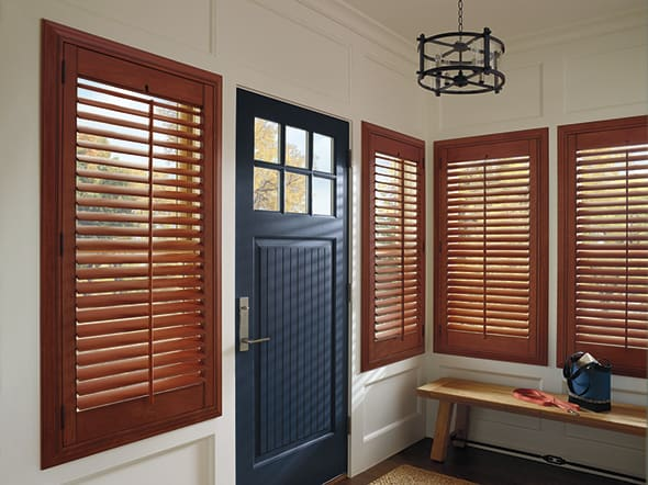 Finding Plantation-Style Shutters for Homes Near Feasterville, Pennsylvania (PA) like Heritance Hardwood for Entryways