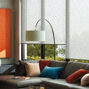 Upgrade with premium motorized window treatments near Feasterville, Pennsylvania (PA), including voice-control operation