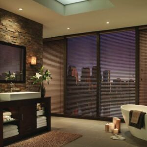 Wood Blinds to Renew your Home near Feasterville, Pennsylvania (PA) including Hunter Douglas Parkland® Wood blinds